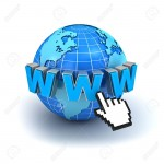 14821565-Internet-world-wide-web-concept-Earth-globe-with-www-text-and-computer-hand-cursor-isolated-on-white-Stock-Photo